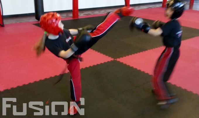 Minis Kickboxing Classes